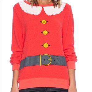 Wildfox Santa Jumper Christmas Pullover Sweatshirt